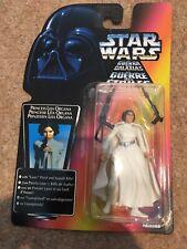 Star Wars Princess Leia Organa Red Card 3 Bands Belt 1995 Kenner