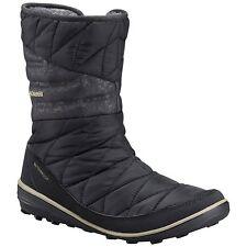 Columbia Womens Heavenly Slip II Omni-heat Fabric Closed Toe Black Size 8.5 1n