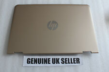 GOLD HP Pavilion x360 13-U Top Rear Back Lid LCD Cover & WiFi / Screen cable