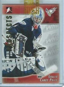 Carey Price 2004-05 ITG Heroes and Prospects #226