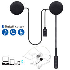 Motorcycle Helmet Bluetooth Headset Call Control Hands free For Phone Tablet Pc