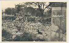 Foto Frankreich-Taillefontaine-franz.MG-Stellung am Friedhof  2.WK-1940 (c225)