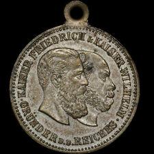PREUSSEN: Medaille ohne Jahr. KAISER WILHELM I - FRIEDRICH III - WILHELM II.