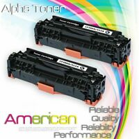 2 Black CF380A Toner Cartridge For HP 312A LaserJet Pro MFP M476dn M476dw M476nw