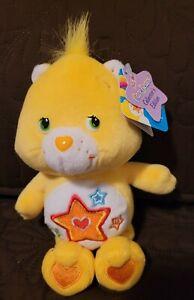 "Care Bear Superstar Bear 8"" Beanie NWT Series 5 Collectors Ed."