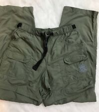Tatoo celebrity xpeditions military grn capri pant adjustable Womens Size L EUC