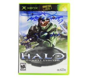 Steve Downes (Master Chief) & Jen Taylor (Cortana) Signed XBOX Halo Game Case