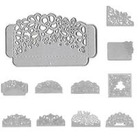 Wedding Invitation Lace Cutting Dies Stencils Scrapbook Card Embossing DIY N3J4