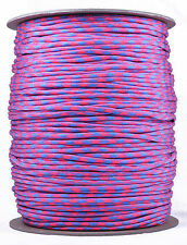 Pink Sky Camo - 550 Paracord Rope 7 strand Parachute Cord - 1000 Foot Spool