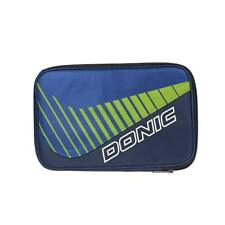 Donic Scan Double Table Tennis Bat Cover (Navy/Light Green)