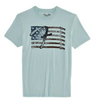 Lucky Brand - Men's XL - NWT$39 - Fender Electric Guitar American Flag Logo Tee