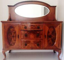 Sideboard - large - burr walnut - Victorian - made in Scotland