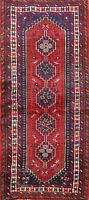 Geometric Traditional Ardebil Hand-knotted Area Rug Tribal Oriental 3x6 Carpet