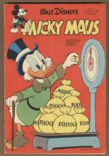 Micky Maus #3 January 1958 VG Full color German Language