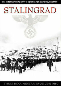 Stalingrad DVD Documentary War WWII 3 PART SERIES 3 Hours -RARE - ONLY 1 AVAILAB