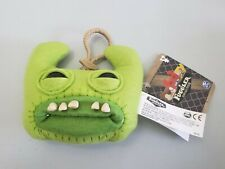 Fuggler Funny Ugly Monster Plush Clip-On Sir Horns-A-Lot (Green) NWT
