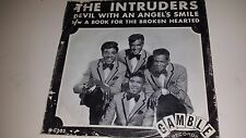 """THE INTRUDERS Devil With An Angels  / A Book For GAMBLE 203 PICTURE SLEEVE 45 7"""""""