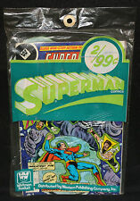 Superman 2pc Comic Book Pre-Pack by Whitman (Sealed) Action / Superboy LOSH