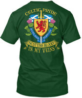 Celtic Pride Scottish Blood In My Veins - Scotland Hanes Tagless Tee T-Shirt