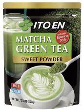 Ito En Matcha Green Tea Sweet Powder 17.5 oz (Pack of 1) Free Shipping !!