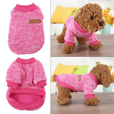 Dog Cat Sweater Coat Pet Clothes Clothing Winter Small Medium Polyester Cotton