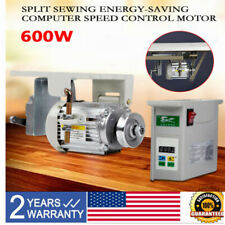 600W Brushless Industrial Sewing Machine Servo Motor Energy Saving Mute Split
