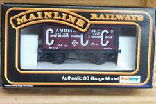 Mainline 37178 CCC 7 Plank Coke Wagon Top Rails 105 Dark Red 00 Gauge