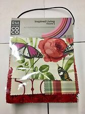 RM COCO Inspired Living Volume 3 Fabric Sample Book 16F10B