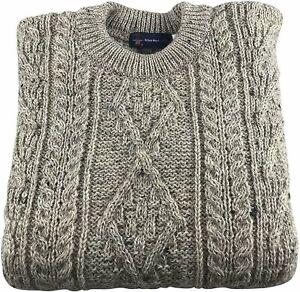 Mens 100% British Wool Skiddaw Arran Jumper Brand New With Tags