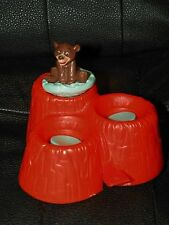 McDonalds BROTHER BEAR Movie KODA Figure On Geyser ALASKA