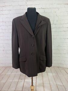 Kasper Women's Brown Stripe Blazer $225