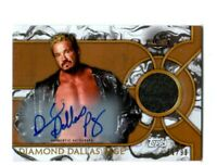 WWE Diamond Dallas Page 2018 Topps Legends Autograph Relic Card SN 82 of 99