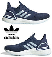Adidas Ultraboost 20 Running Shoes Women's Casual Sneakers Athletic Indigo