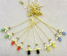 Angel Earrings Kit - Assorted Colours - GP Findings - Makes 5 pairs