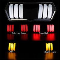 Motorcycle LED Brake Tail Light Rear Turn Signal For Honda Grom MSX125 YG-125