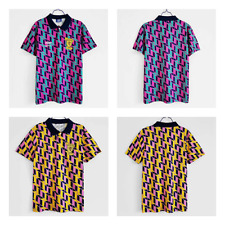 1990 Scotland Away Retro Shirt Men's Football Jersey