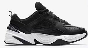Original Nike Mens M2k Tekno Black White Trainers AV4789 002 DB8