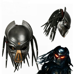 New The Predator Mask Hard Resin Cosplay Helmet Costume Prop Halloween