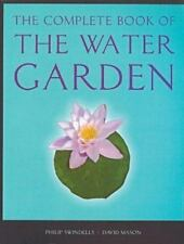 Complete Book of the Water Garden by Mason & Swindell plans fish plants diagrams