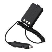 12V Car Charger Battery Eliminator for Baofeng Dual Band Radio UV5R 5RA 5RE