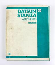 Datsun Stanza A10  factory workshop manual Feb 1980
