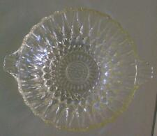 depression glass trifle bowl collectable standard EC honey 1920's 1930's dessert