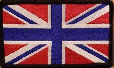 UK UNITED KINGDOM Flag Patch With VELCRO® Brand Fastener Morale Emblem III