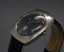New Old Stock 34mm VANROY vintage AUTOMATIC watch NOS AS 1866 / 76 no quickset