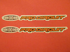 Two Pro Circuit Racing Team Motocross Supercross Sponsor Logo Decals Stickers