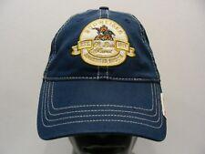 BUDWEISER - EST. 1875 - ONE SIZE ADJUSTABLE STRAPBACK BALL CAP HAT!