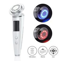 5 in 1 RF Photon LED Therapy Facial Skin Lifting V Face Vibration Beauty Machine