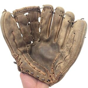 Hank Aaron MacGregor Personal Model 905 Made in Japan Vintage Baseball Glove