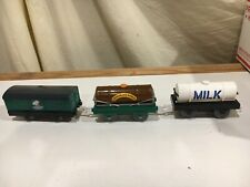 Thomas and Friends Trackmaster Mr. Jolly's Chocolate Factory and Milk Cars