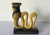 MERETSEGER Gods of Ancient Egypt Resin Figurine Ornament & Original Packaging